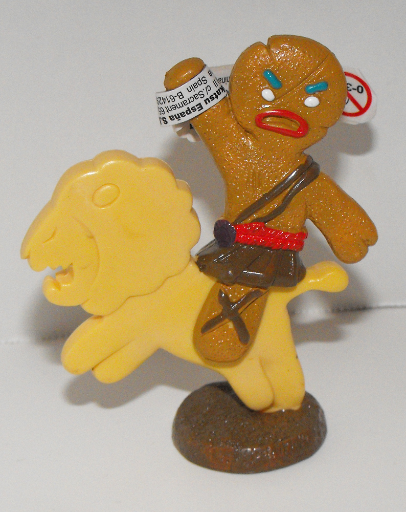 Gingy on Animal Cracker 3 inch Figurine
