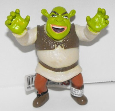 Shrek Scaring 3 inch Plastic Figurine