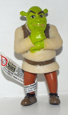 Shrek Thinking 3 inch Plastic Figurine