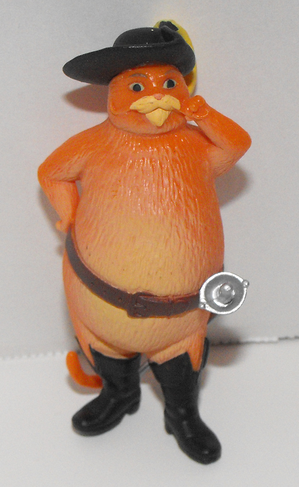 Fat Puss in Boots 2 1/2 inch Shrek Plastic Figurine