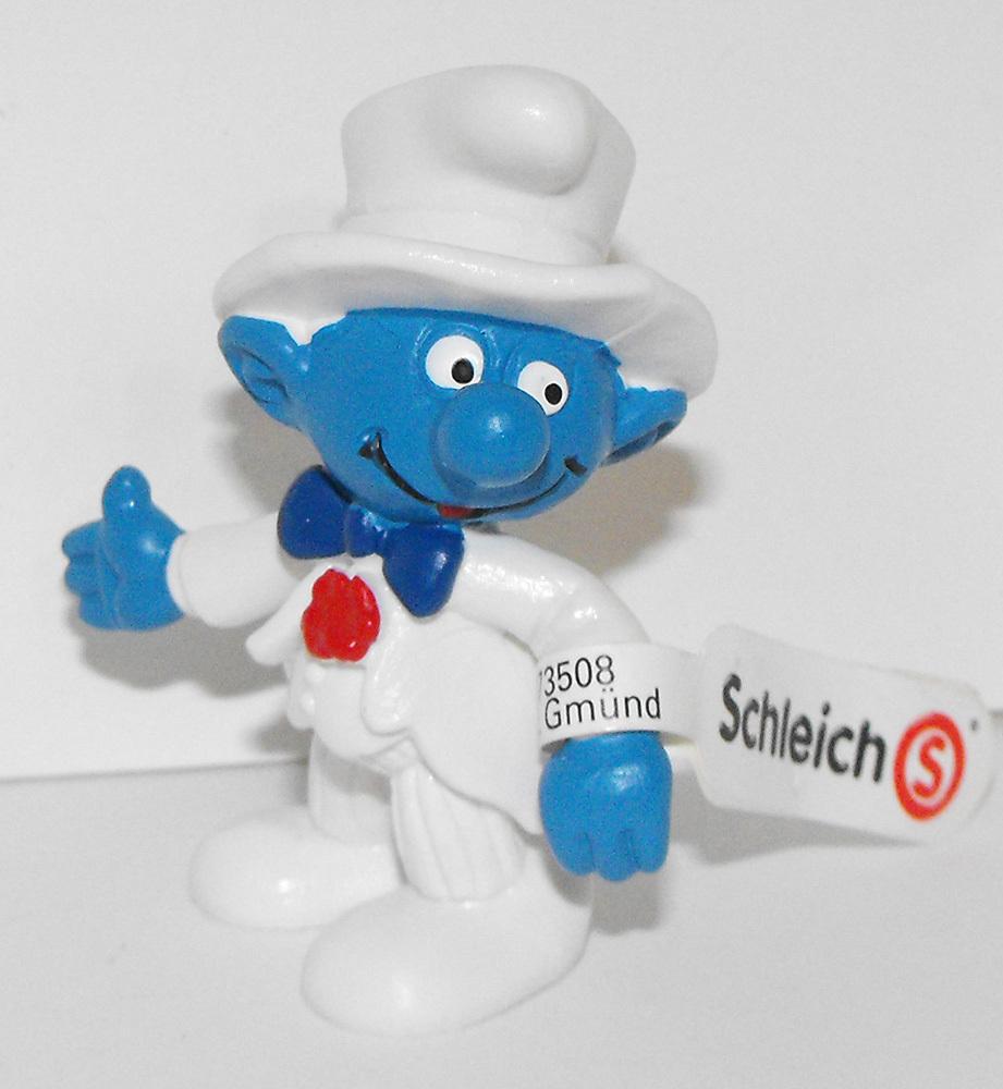 Groom Smurf 2 inch Plastic Wedding Figure 20413