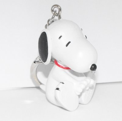 Snoopy with Hands Out Front 2 inch Figurine Keychain Peanuts Miniature Figure Key Chain