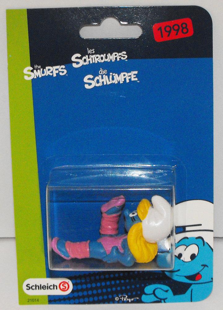 Aerobic Smurfette Figurine in Package 20457