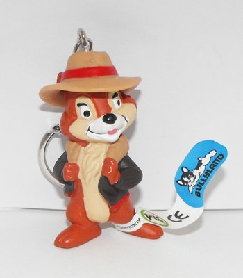Chip Chipmunk from Chip and Dale Figurine Keychain 2 1/2 inch Miniature Figure Key Chain