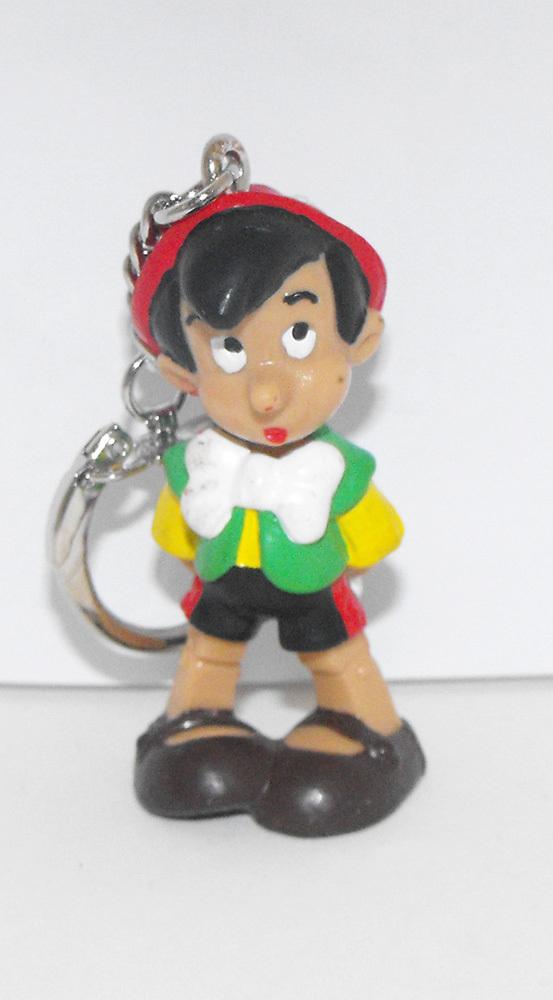 Pinocchio as a Schoolboy Plastic Figurine Keychain