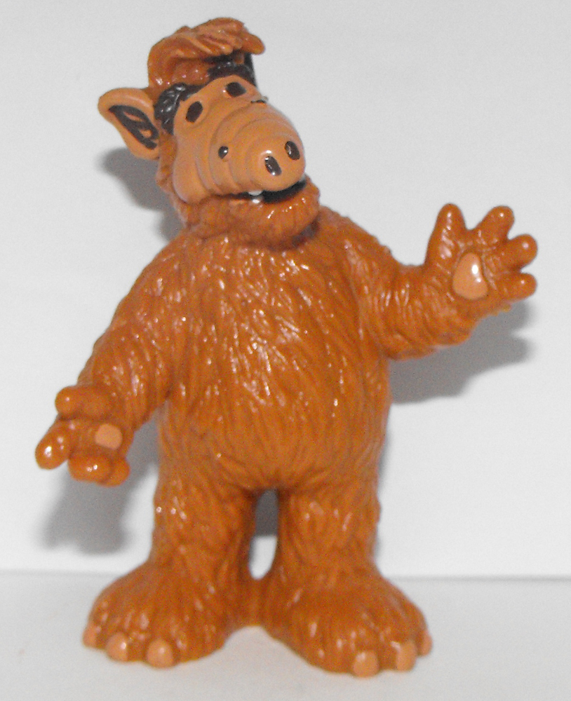 Alf Standing 3 inch Plastic Figurine
