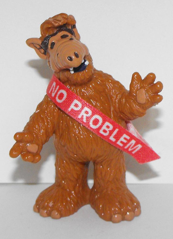 Alf Standing No Problem 3 inch Plastic Figurine