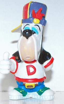 Droopy Dog as a Rapper 2 1/2 inch Plastic Figurine Figure