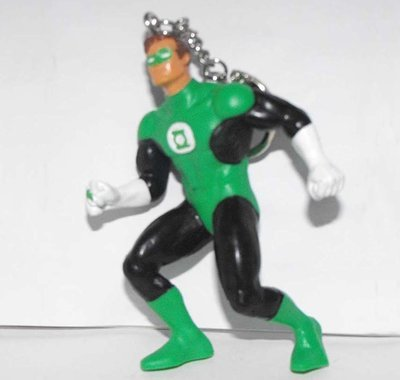 Green Lantern DC Comics Super Hero Figurine Keychain