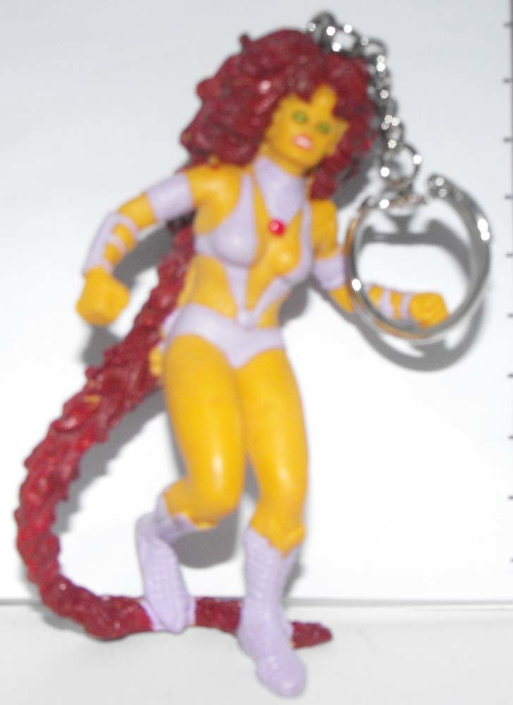 Starfire Marvel Super Hero Figurine Keychain
