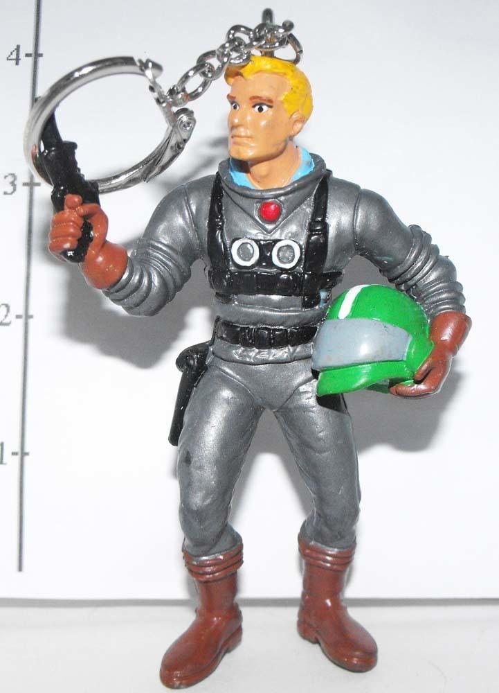 Flash Gordon Marvel Super Hero Figurine Keychain