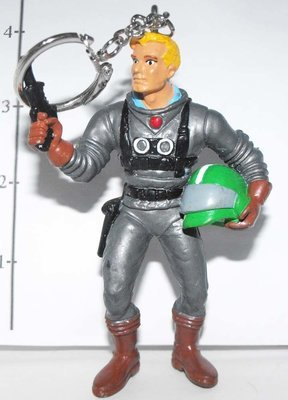 Flash Gordon Marvel Super Hero Figurine Keychain