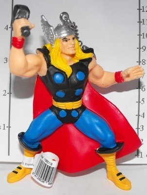 Thor Marvel Super Hero Figurine Keychain