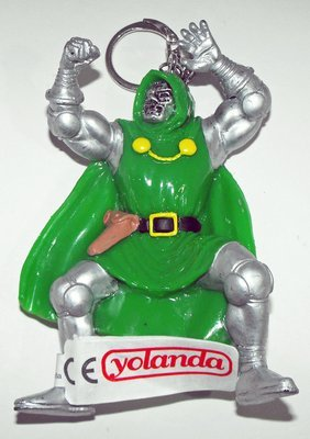 Dr. Doom Marvel Villain Figurine Keychain