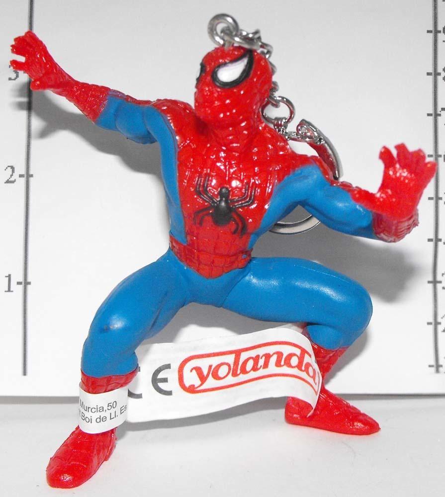 Spiderman (standing) Marvel Super Hero Figurine Keychain