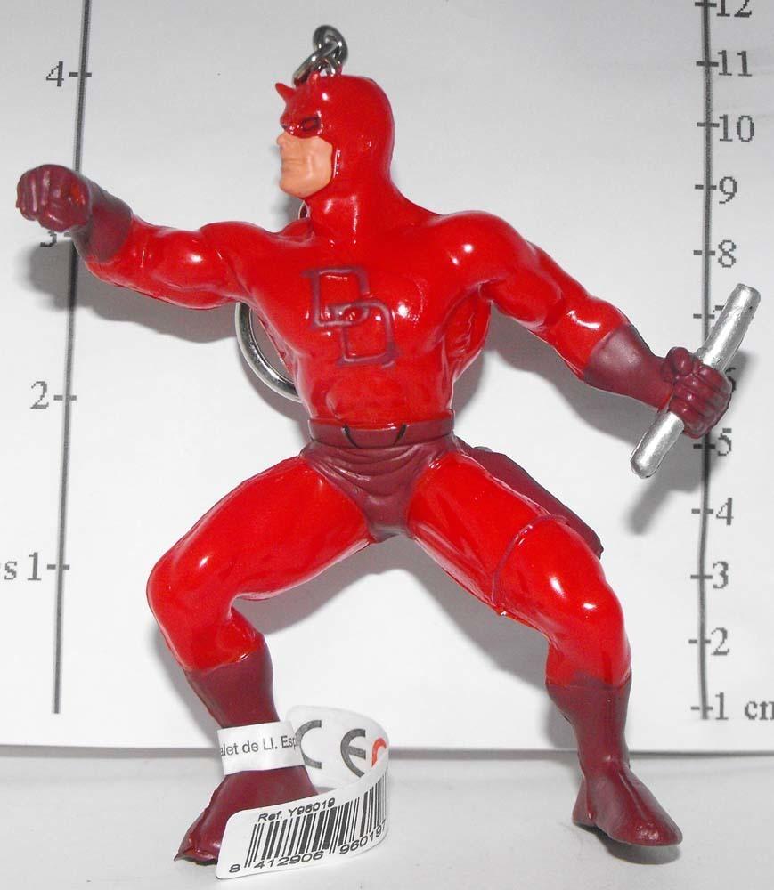 Daredevil Marvel Super Hero Figurine Keychain