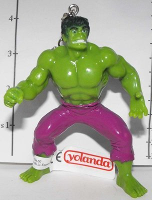 Hulk Marvel Super Hero Figurine Keychain