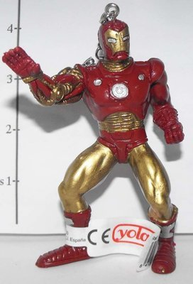 Ironman Marvel Super Hero Figurine Keychain