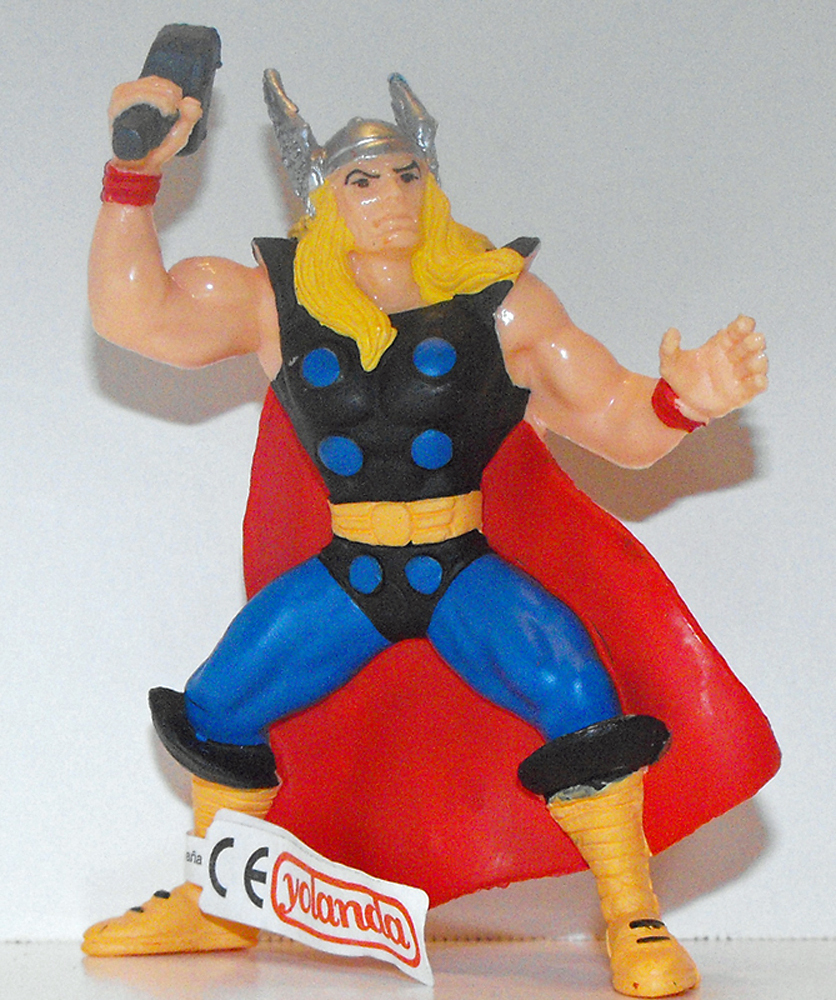 Thor Marvel Super Hero 4 inch Figurine
