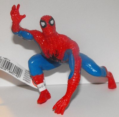 Spiderman (one arm down) Marvel Super Hero 4 inch Figurine