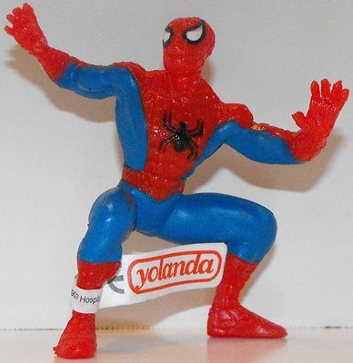 Spiderman (standing) Marvel Super Hero 4 inch Figurine