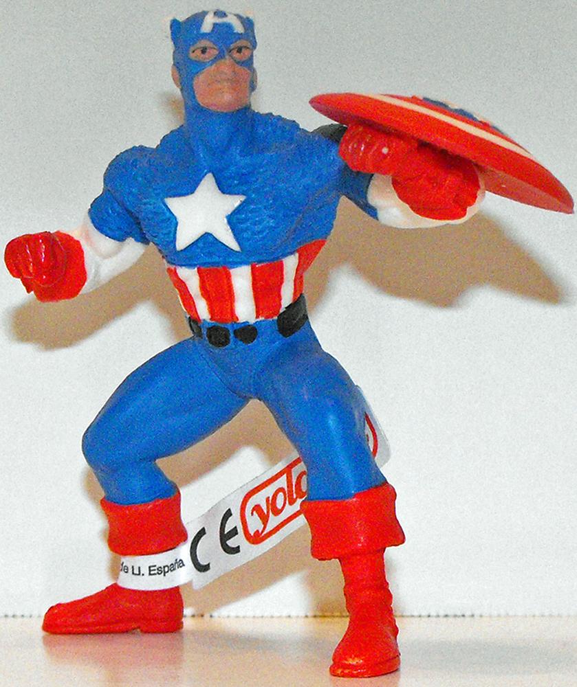 Captain America Marvel Super Hero 4 inch Figurine