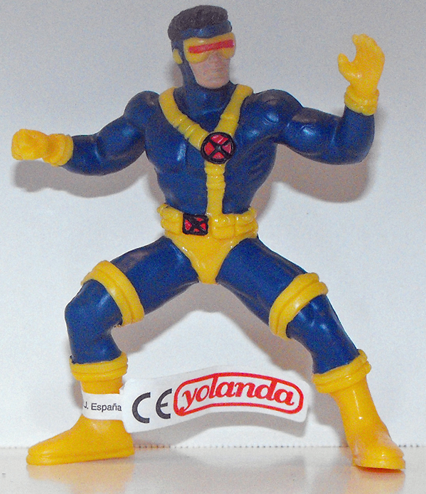 X-Men Cyclops Marvel Super Hero 4 inch Figurine