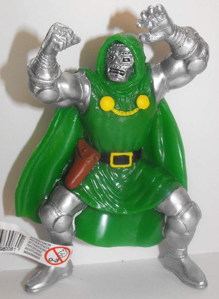 Dr. Doom Marvel Super Hero 4 inch Figurine