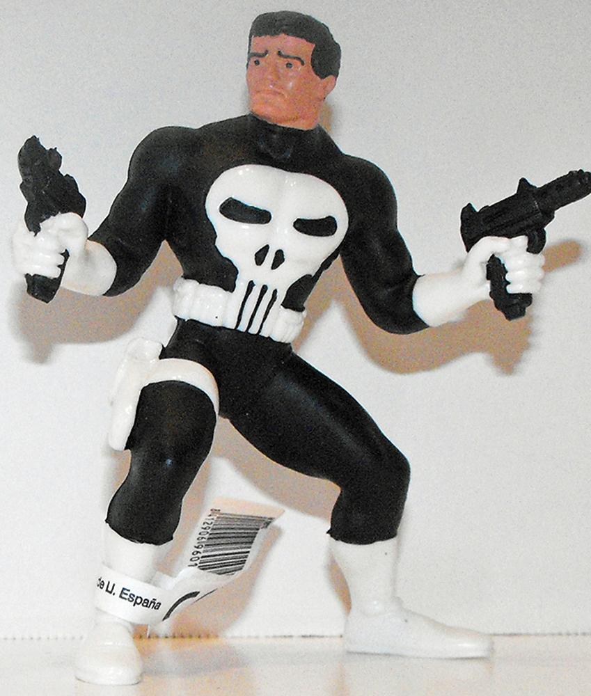 The Punisher Marvel Super Hero 4 inch Figurine