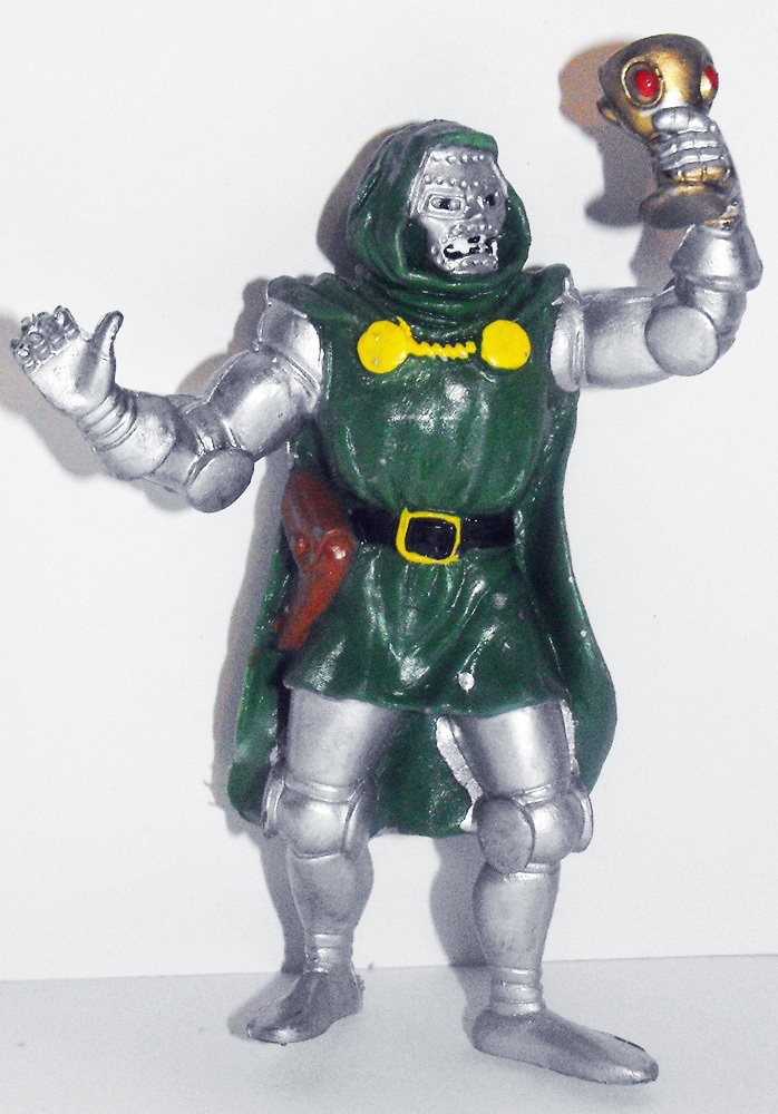 Dr. Doom Marvel Super Hero 3 inch Figurine
