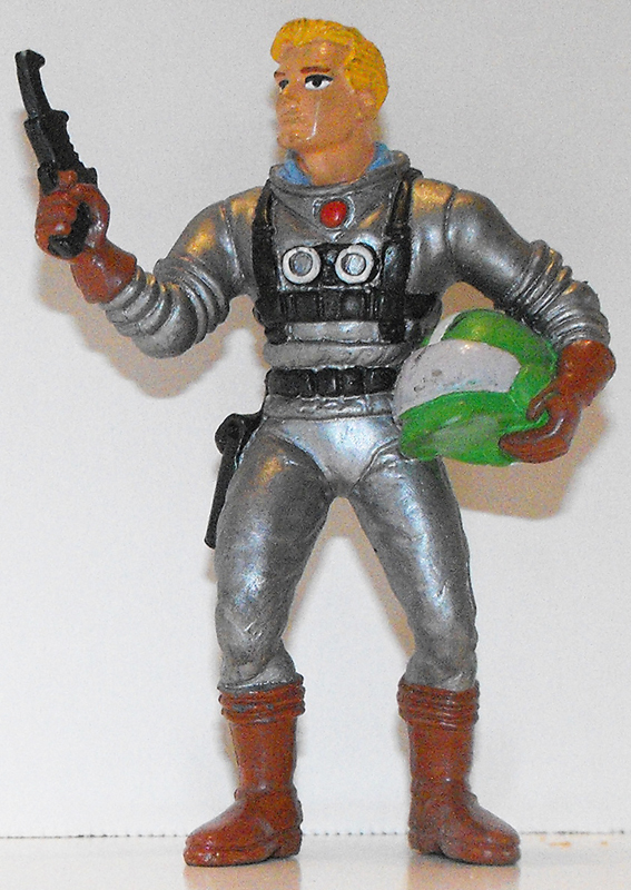 Flash Gordon Marvel Super Hero 3 inch Figurine