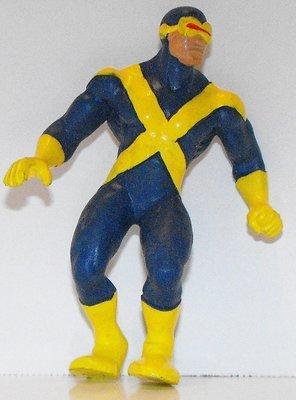 X-Men Cyclops Marvel Super Hero 3 inch Figurine