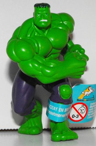 The Incredible Hulk Super Hero 2 inch D&M Figurine