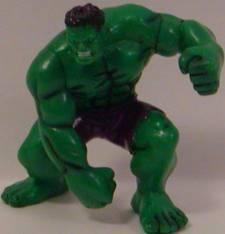 The Incredible Hulk (one arm down) Super Hero 2 inch Yolanda Figurine