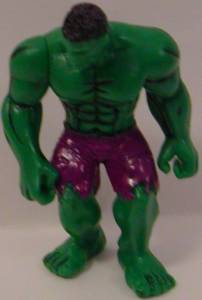 The Incredible Hulk (standing) Super Hero 2 inch Yolanda Figurine