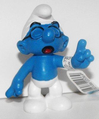 Classic Brainy Smurf 2 inch Figurine 20536