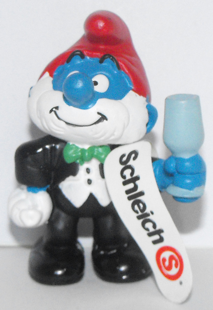 Papa Smurf in Tuxedo Party 2 inch Figurine 20706