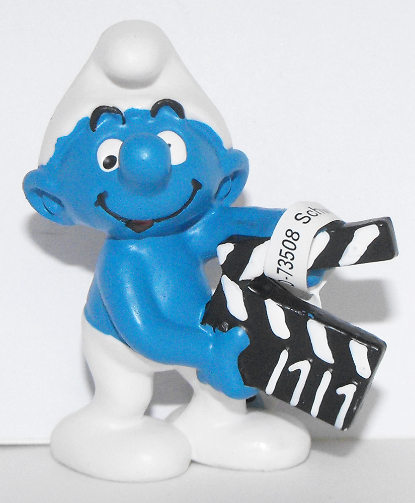 Movie Maker Smurf 2 inch Figurine 20710