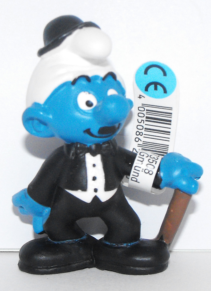 Movie Actor Smurf 2 inch Figurine 20716