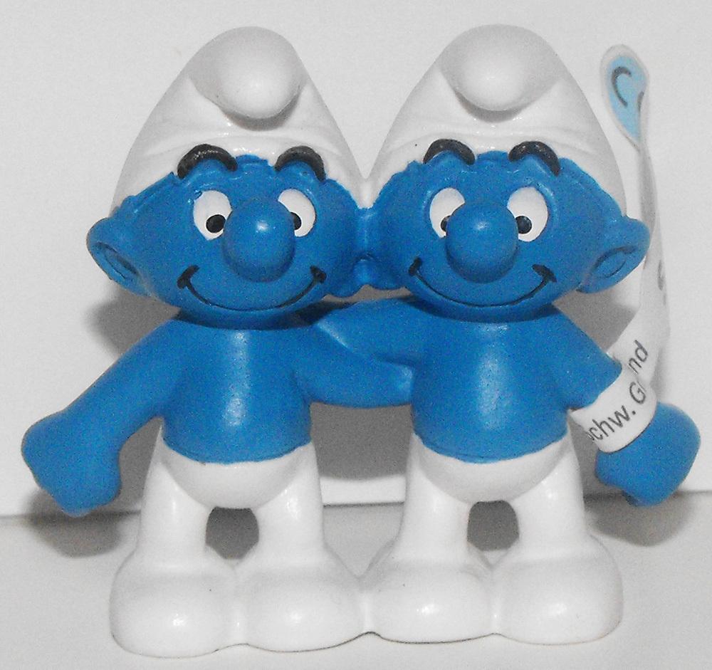 Gemini Zodiac Smurf 2 inch Figurine 20722