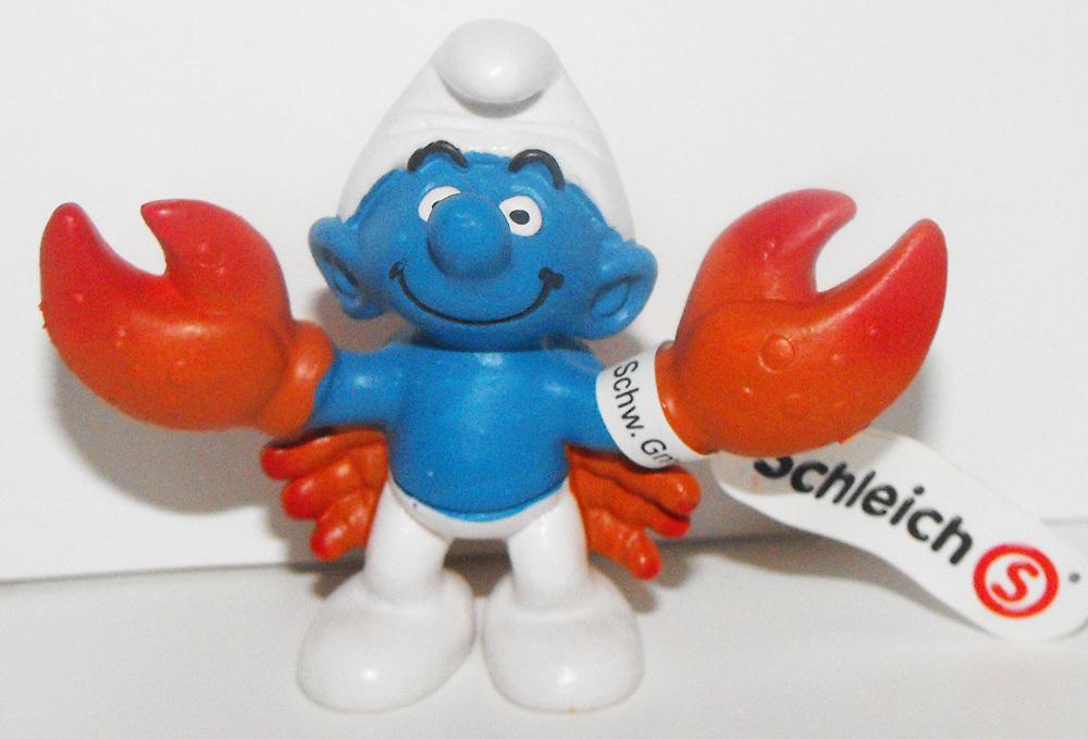 Cancer Zodiac Smurf 2 inch Figurine 20723
