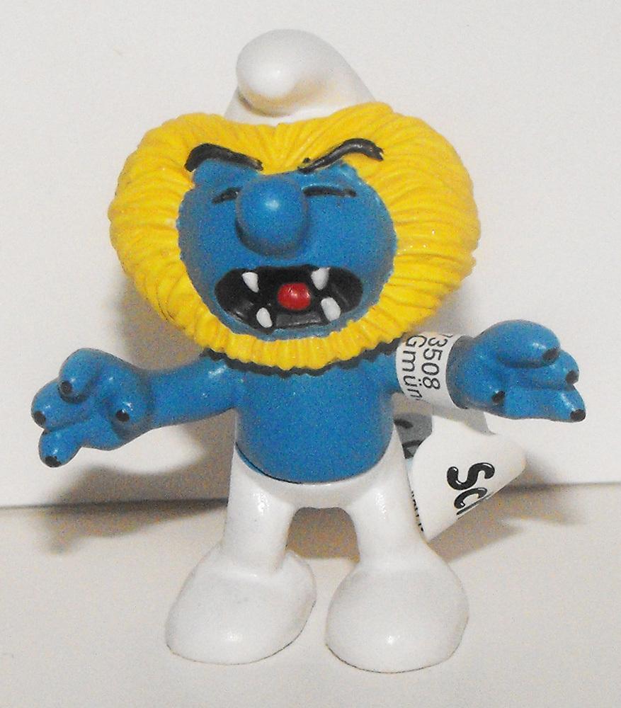 Leo Zodiac Smurf 2 inch Plastic Figurine 20724