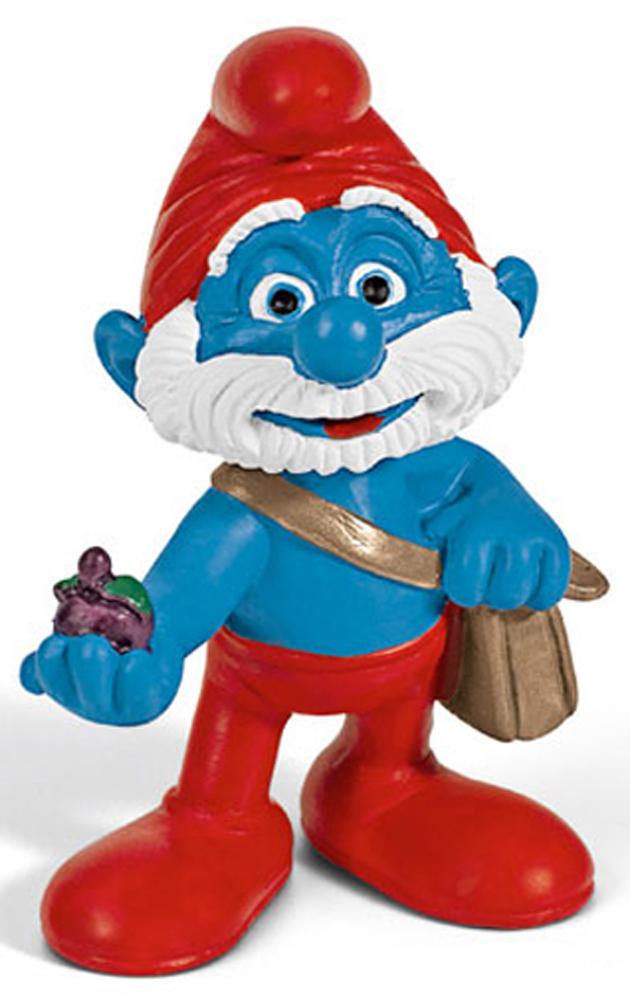 Papa with Bag Figurine from Smurf Movie 20729