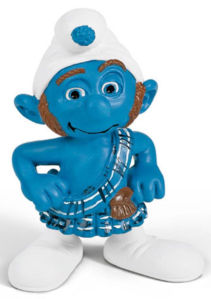 Gutsy Figurine from Smurfs in 3D Movie 20732