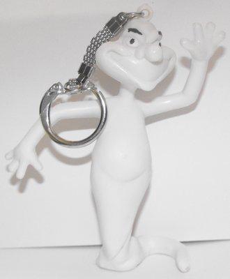 Stinky Plastic Figurine Keychain from Casper Ghostly Trio Figure Key Chain