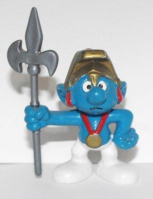 Halbardier Smurf 2 inch Plastic Figurine 20109