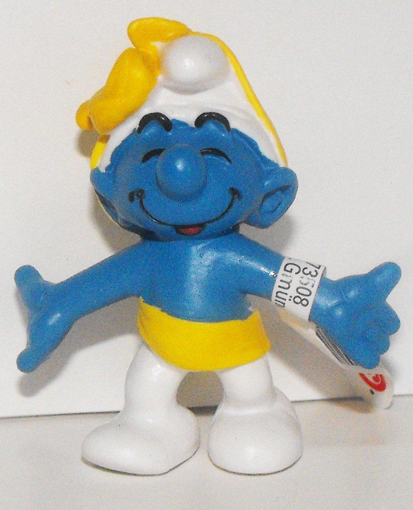 Anniversary Party Smurf 2 inch Figurine Plastic Miniature Figure 20701