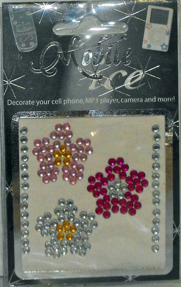 Daisies Cell Phone Sticker Mobile Ice Daisy Flowers iPhone Sticker iPod Decal