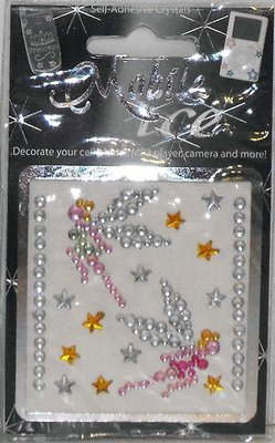 Fairies and Stars Cell Phone Sticker Mobile Ice Fairy iPhone Sticker iPod Decal