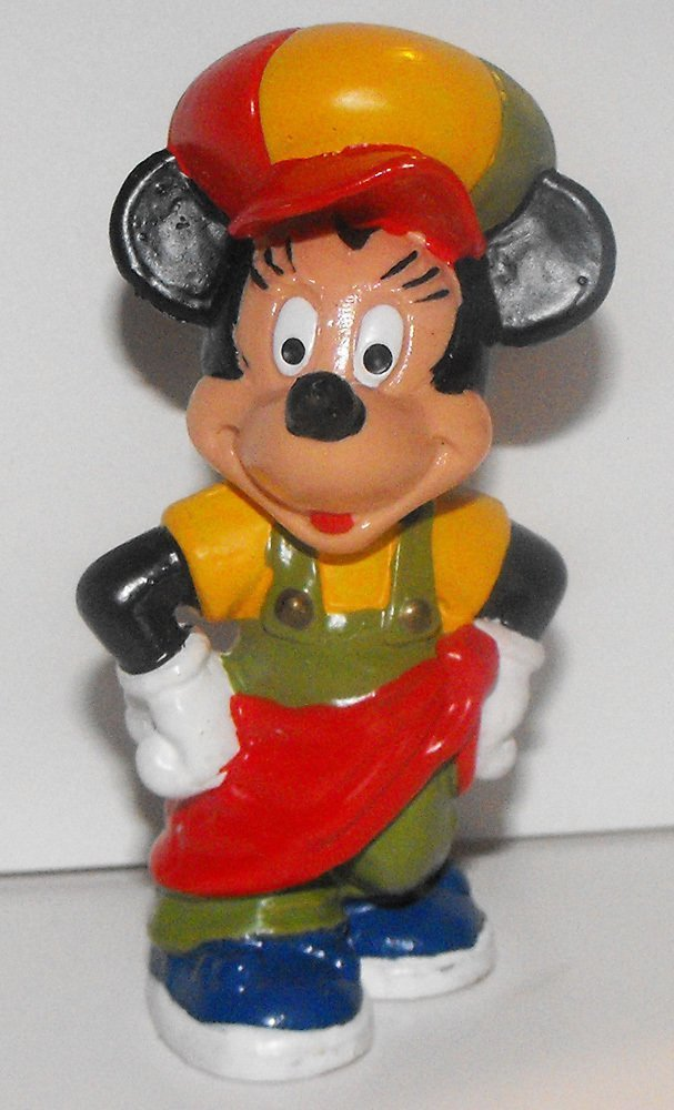 Minnie Mouse in Hip Hop Urban Outfit 2 inch Plastic Figure